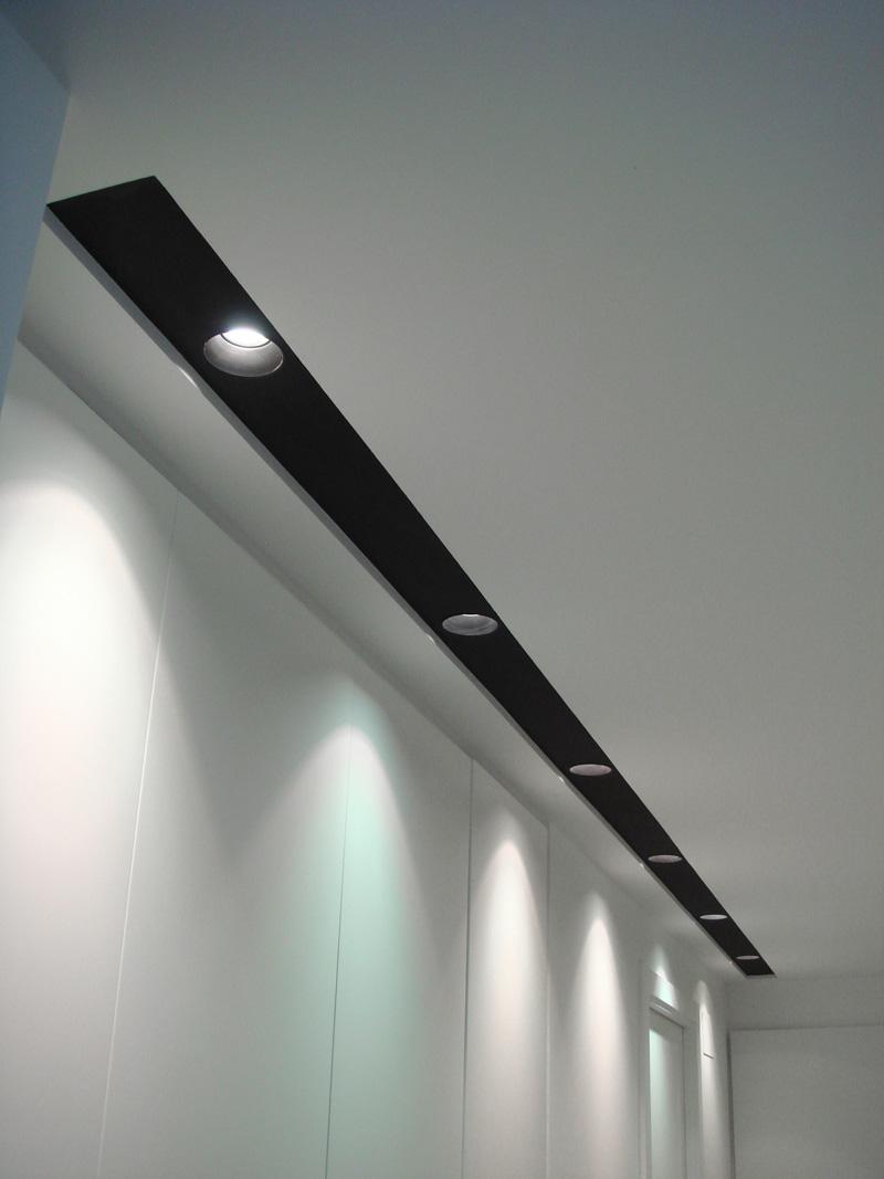 Iluminar el dormitorio - Focos techo ikea ...