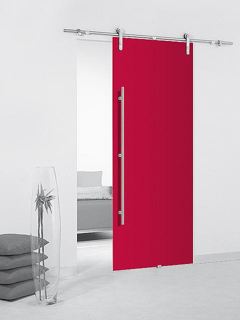 Abriendo paso al espacio espaciospilimili for Guias puertas correderas colgantes