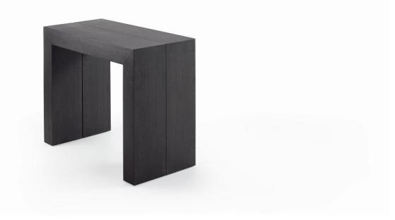Consola extensible espaciospilimili - Consolas de ikea ...