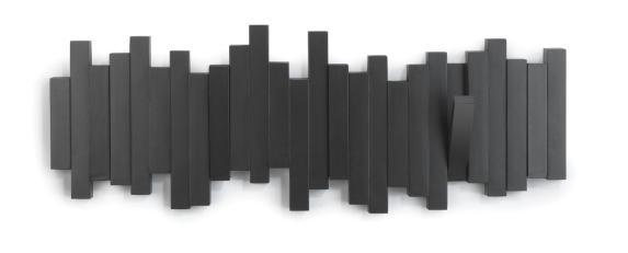 Perchero sticks negro