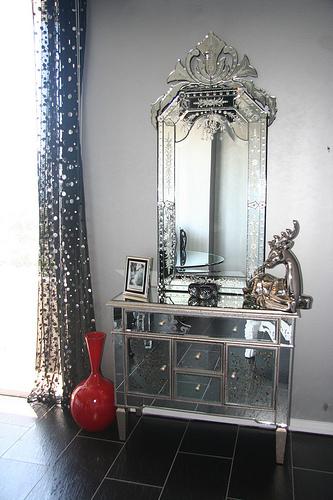 consola espejo
