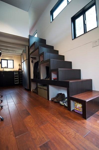 Aprovechar los huecos de escalera