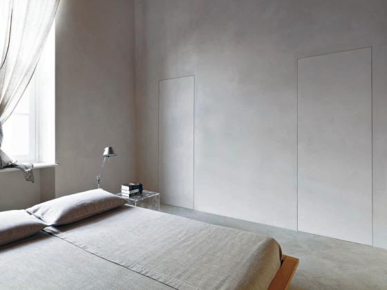 puertas ocultas pared