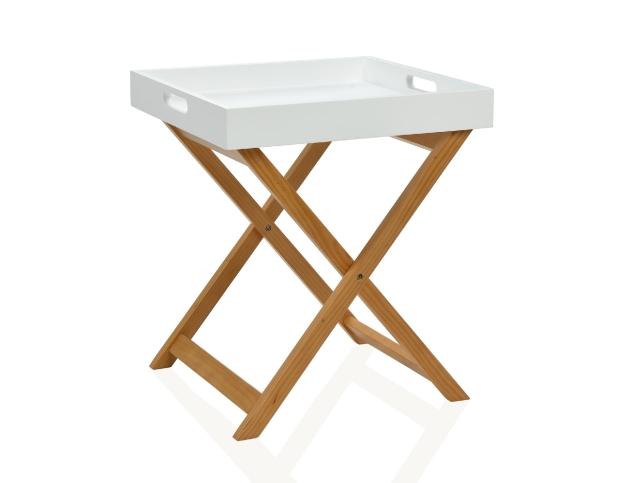 Mesa bandeja madera