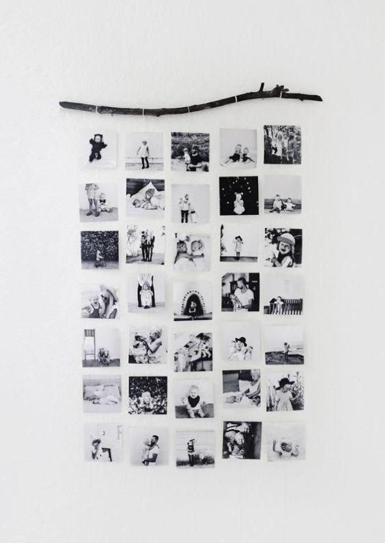 ideas-para-colgar-fotos-pared