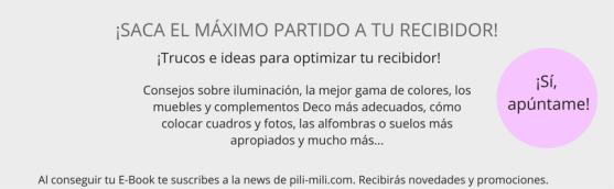 IDEAS Y TRUCOS PARA DECORAR TU RECIBIDOR